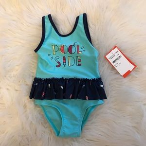 Joe Fresh Swim - Baby Girl Joe Fresh PoolSide Treats Swimsuit 6-12M